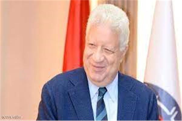 مرتضي منصور رئيس نادي الزمالك السابق