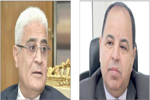 د.محمد معيط و اللواء جمال عوض