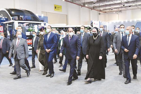 خطوات كبيرة حققتها الصناعة المصرية