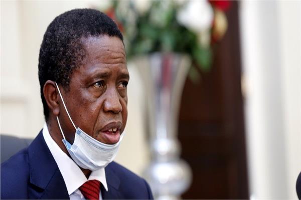 الرئيس الزامبي إدجار لونجو