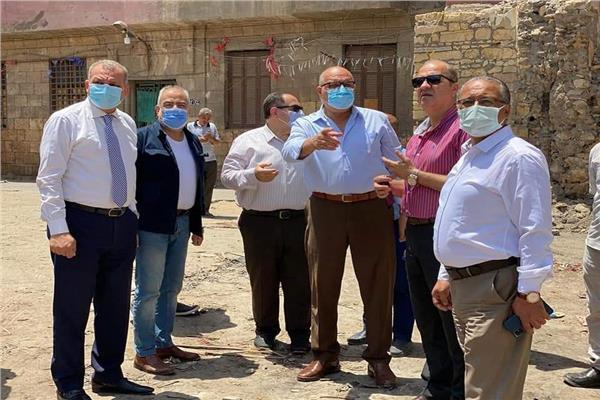 نائب محافظ القاهرة يتفقد معوقات أعمال تطوير القاهرة التاريخية