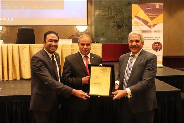 وزير التعليم العالي يكرم جامعة الأزهر؛ لتقدمها في تصنيف QS العالمي للجامعات