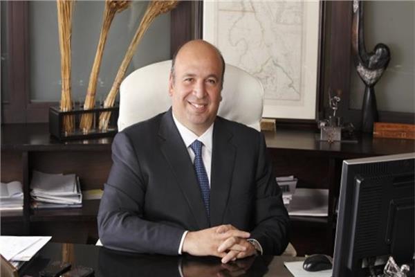 أحمد هيكل رئيس شركة القلعة للاستثمارات والاستشارات المالية