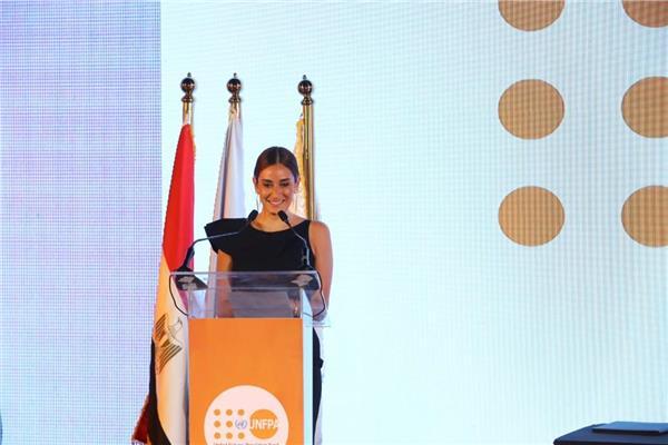 أمينة خليل سفيرة فخرية لصندوق الأمم المتحدة للسكان
