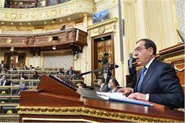 وزير البترول خلال جلسة مجلس النواب
