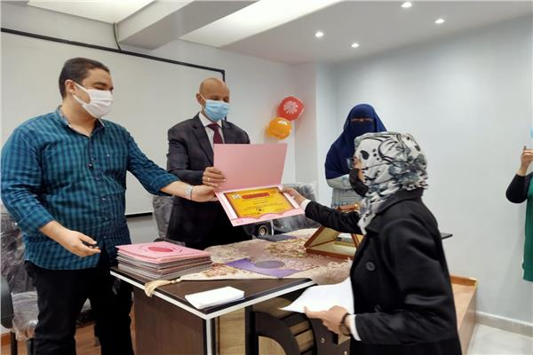 تكريم فرق الجودة بصحة الشرقية لجهودهم خلال جائحة كورونا