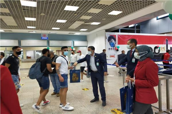 اولي رحلات فلاي دبي تصل مطار شرم الشيخ استمرارًا للتعاون المثمر