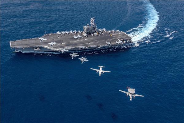 حاملة الطائرات الأمريكية رونالد ريجان