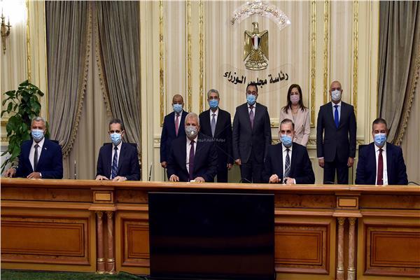 مراسم توقيع 3 بروتوكولات