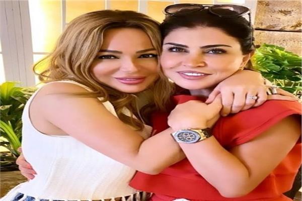 سوزان نجم الدين وجومانا مراد