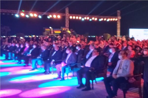انطلاق حفل إفتتاح الدوره ال 22 لمهرجان الإسماعيلية السينمائي الدولي للأفلام التسجيلية