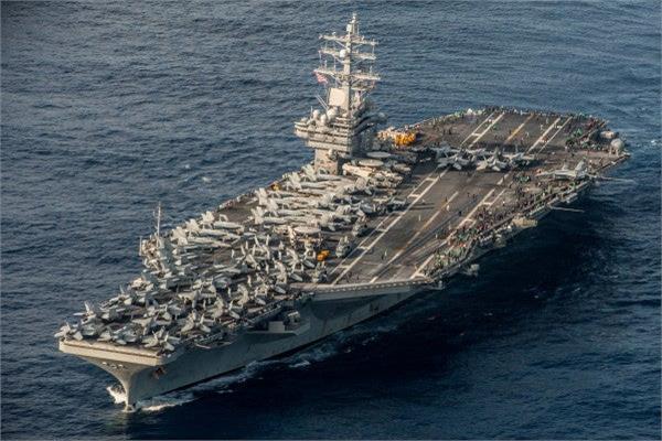 حاملة طائرات أمريكية تدخل بحر الصين الجنوبي