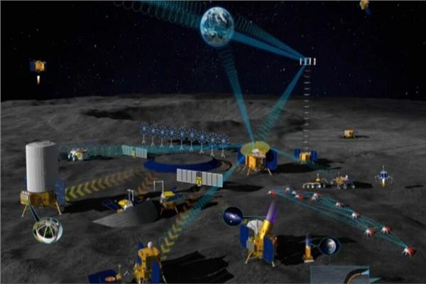 قاعدة روسية صينية على سطح القمر