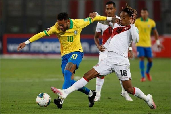 من لقاء سابق بين البرازيل والبيرو