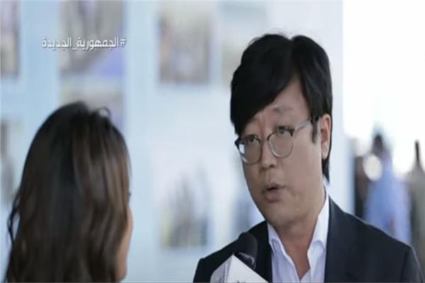 ممثل المدير العام للشركة الصينية بالعاصمة الادارية، وانج جي