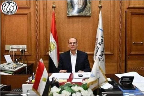 مصطفى أبو المكارم رئيس هيئة السكة الحديد