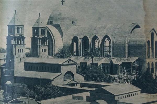 الكاتدرائية المرقسية صممت على أحدث النظم المعمارية في العالم