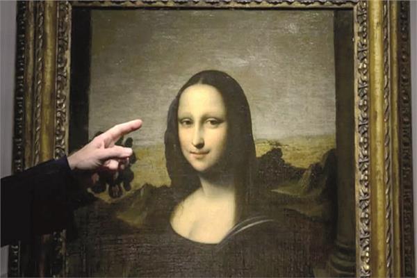 لوحة موناليزا التى تم بيعها