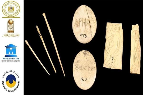 متحف الاسكندرية يستعرض تاريخ المشغولات العاجية