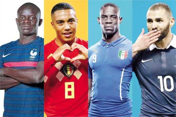 النجوم الأفارقة يزينون يورو 2020