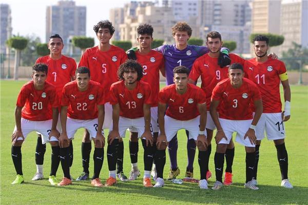 لاعبي منتخب مصر للشباب