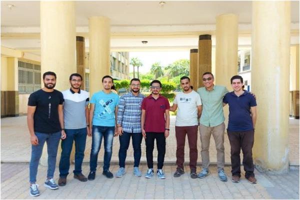 طلاب هندسة حاسبات المنصورة