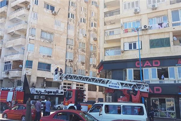 إزالة جهاز تكييف بكورنيش الإسكندرية