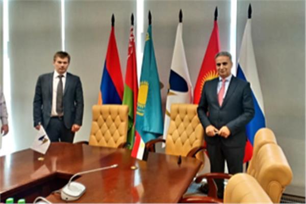 موسكو تستضيف الجولة الرابعة لمفاوضات ابرام اتفاق تجارة حرة بين مصر والاتحاد الاوراسي