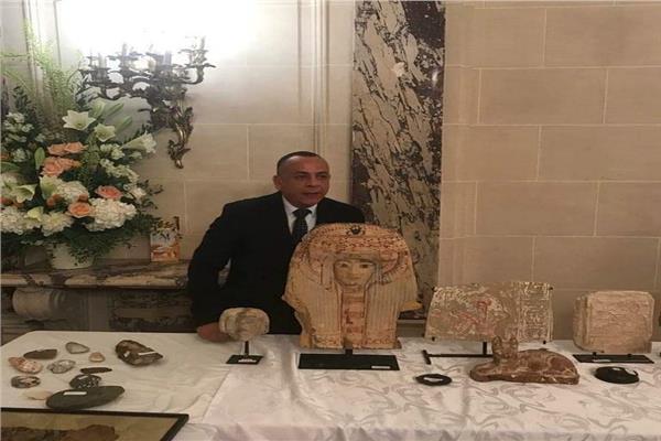 الأمين العام لمجلس الاعلي للآثار د. مصطفى وزيري