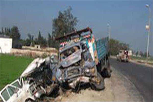 حادث طريق الإسكندرية الزراعي