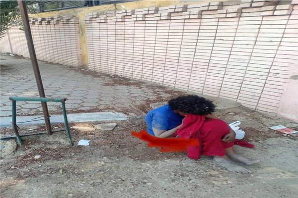 فتاة في منطقة حلوان