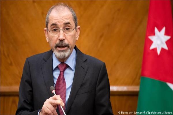 ووزير الخارجية الأردني  أيمن الصفدي