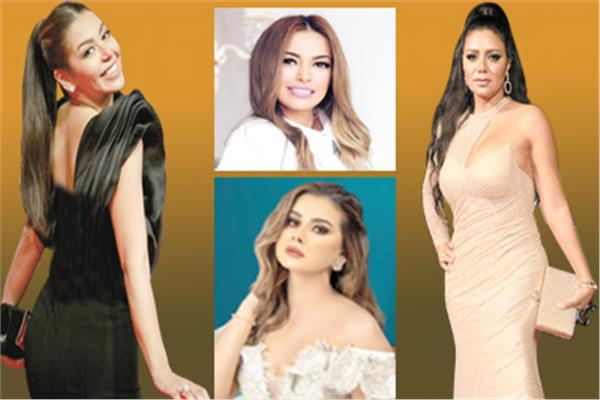 رانيا يوسف -  داليا مصطفى -  منة عرفة -  لقاء الخميسى