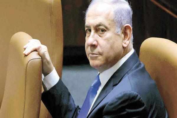 رئيس الوزراء الإسرائيلى السابق بنيامين نتنياهو