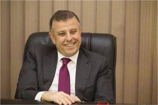 رئيس جامعة عين شمس محمود المتيني