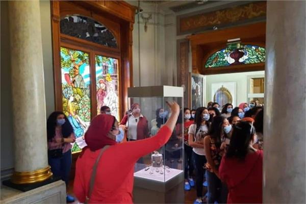توافد العديد من المصريين والأجانب على المتاحف المصرية