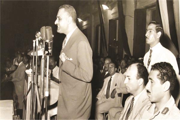 خطاب الرئيس جمال عبد الناصر