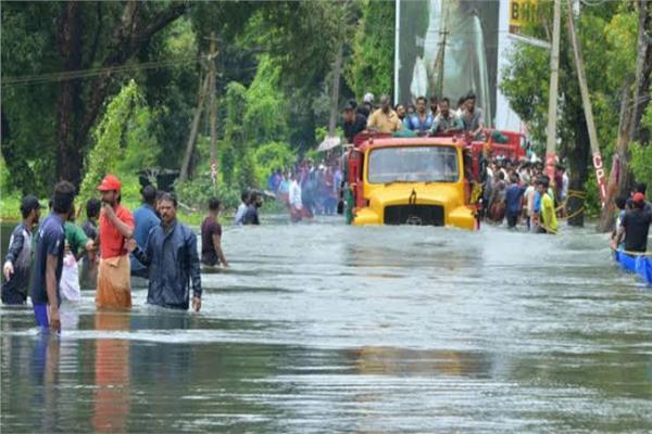 الأمطار الموسمية الغزيرة تغزو الهند