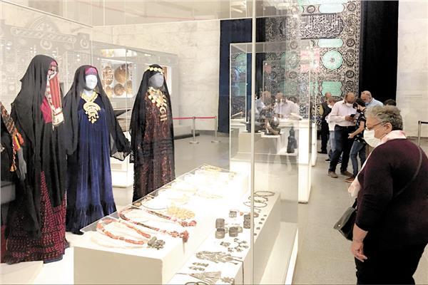 متحف الحضارة شهد تدفق أعداد كبيرة من المصريين والعرب والأجانب طوال إجازة العيد