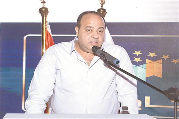 الكاتب الصحفى احمد جلال و رئيس مجلس إدارة مؤسسة أخبار اليوم