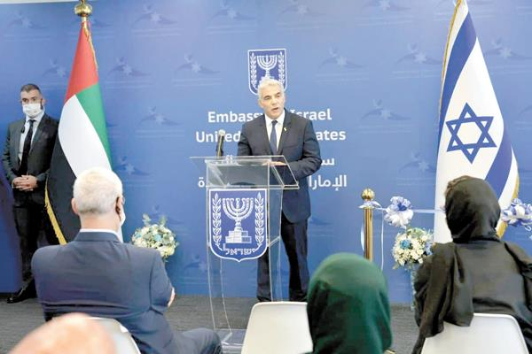وزير الخارجية الإسرائيلى