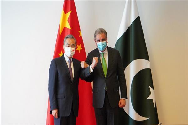 وزيرا الخارجية الباكستاني والصيني