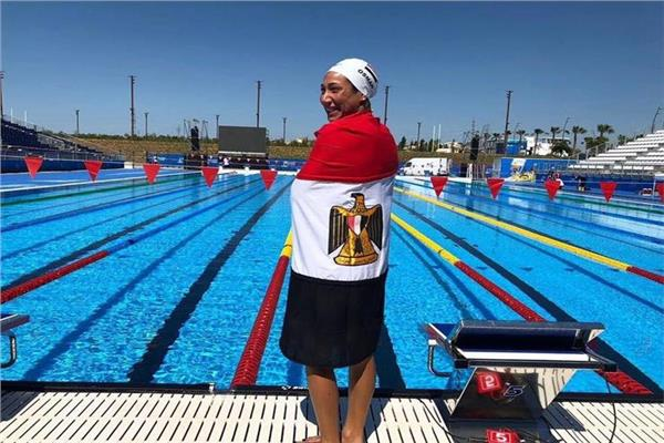 السباحة المصرية فريدة عثمان