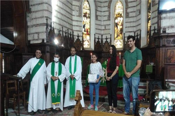 احتفال  الكنائس الأسقفية بالإسكندرية