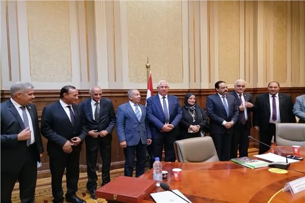 لجنة الدفاع والأمن القومي مع وزير الزراعة