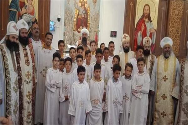 رسامة 38 شماسا بكنائس محتلفة باطفيح