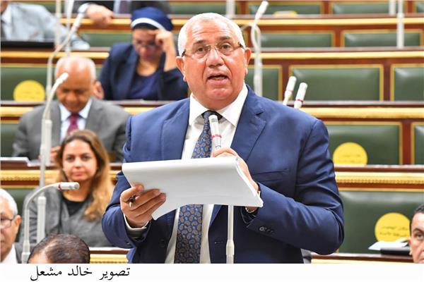 السيد القصير وزير الزراعة بمجلس النواب