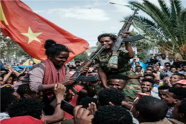 جنود جبهة تحرير تيجراي