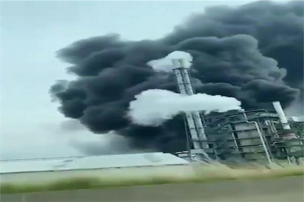 صورة للإنفجار
