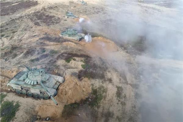 الجيش الروسي يجري تدريبات